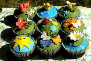 Letní cupcakes