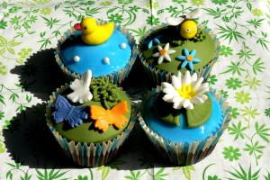 Letní cupcakes podruhé