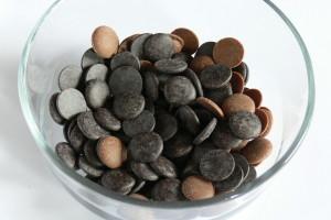 Čokoládové pecky na ganache
