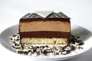dort s čokoládovou pěnou