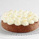 čokoládovo-mandlový dort