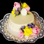 dort s jarními květy