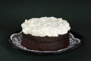 čokoládový dort s černým pivem