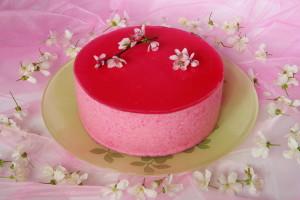 dort s třešňovou pěnou
