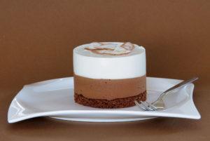 kokosovo-čokoládové dortíky
