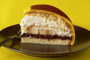 královský dort řez