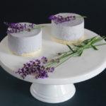 levandulové dortíky s borůvkami