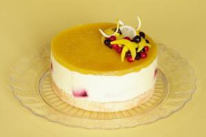 dort s mangovou pěnou
