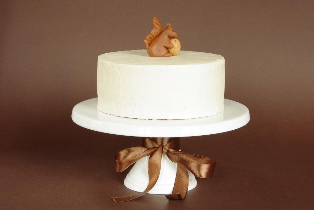 ořechový dort k narozeninám Ořechový dort s vanilkovým krémem | Je libo kousek dortu? ořechový dort k narozeninám
